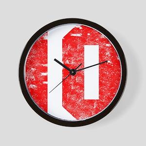 10th Birthday Wall Clock