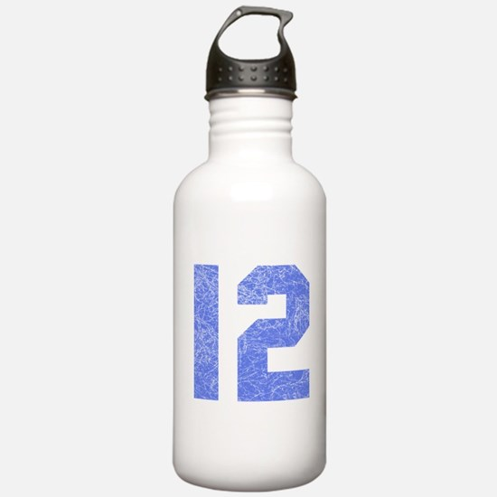 12th Birthday Sports Water Bottle
