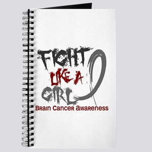 Licensed Fight Like a Girl 5.3 Brain Cance Journal