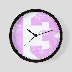 13th Birthday Wall Clock