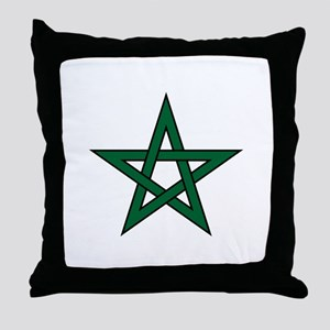 Morocco Star Throw Pillow
