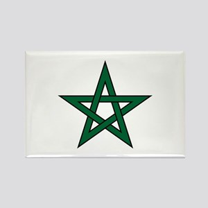 Morocco Star Rectangle Magnet