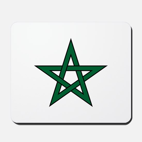 Morocco Star Mousepad