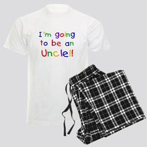 Going to be an Uncle Men's Light Pajamas