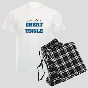 Blue Great Uncle Men's Light Pajamas
