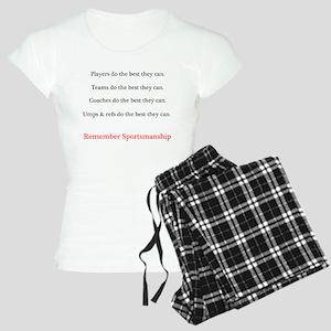 Remember Sportsmanship Women's Light Pajamas