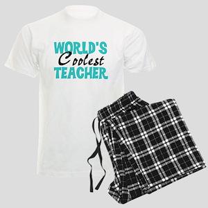 World's Coolest Teacher Men's Light Pajamas