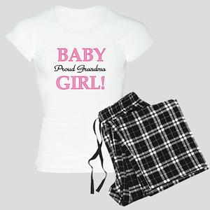 Baby Girl Proud Grandma Women's Light Pajamas