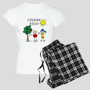 Cousins Rock Three Women's Light Pajamas