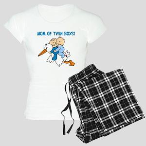 Stork Mom of Twin Boys Women's Light Pajamas