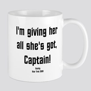 I'm giving her all she's got! Mug