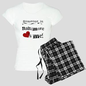 Baltimore Loves Me Women's Light Pajamas