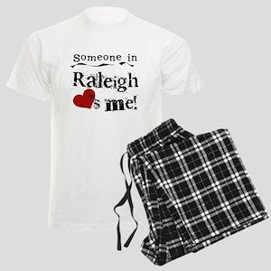 Raleigh Loves Me Men's Light Pajamas