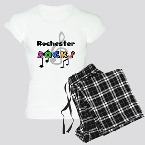 Rochester Rocks Women's Light Pajamas