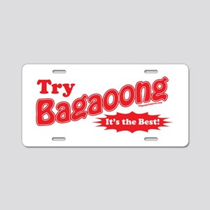 Try Bagaoong Aluminum License Plate