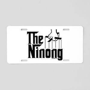 The Ninong Aluminum License Plate