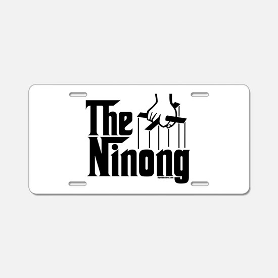 The Ninong Aluminum License Plate