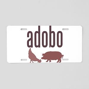 Adobo Aluminum License Plate