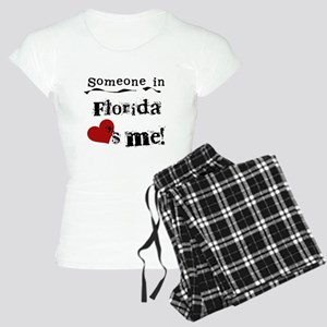 Someone in Florida Women's Light Pajamas