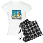 Tropical Girls Night Out Women's Light Pajamas