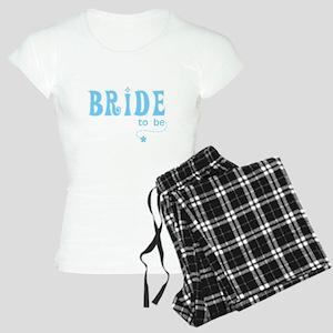 Bride to Be Blue Women's Light Pajamas