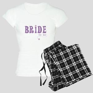 Bride to Be Purple Women's Light Pajamas
