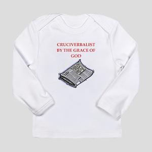 crossword puzzle Long Sleeve Infant T-Shirt