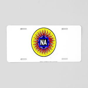 NA SUN Aluminum License Plate