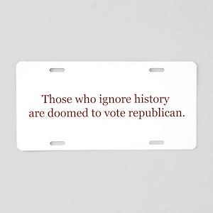 Change History Aluminum License Plate