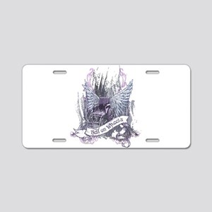 Hell on Wheels Aluminum License Plate
