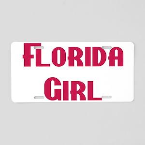 Florida Girl Aluminum License Plate