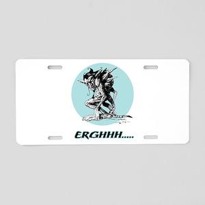 Grim Gargoyle Aluminum License Plate