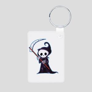 Sweet Little Death Aluminum Photo Keychain