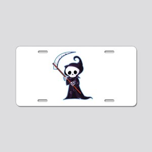 Sweet Little Death Aluminum License Plate