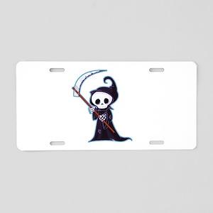 Sweet Little Death Aluminum License Plate