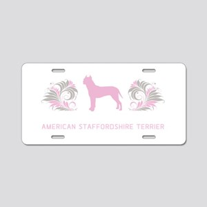 AmStaff Aluminum License Plate