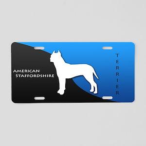 American Staffordshire Terrie Aluminum License Pla