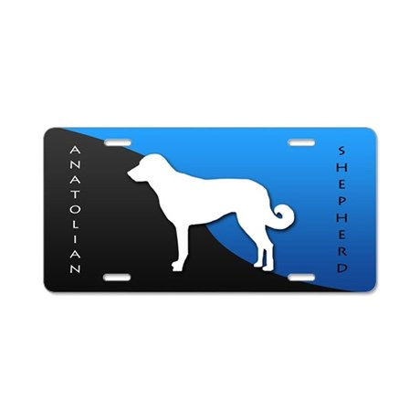 Anatolian Shepherd Dog Aluminum License Plate