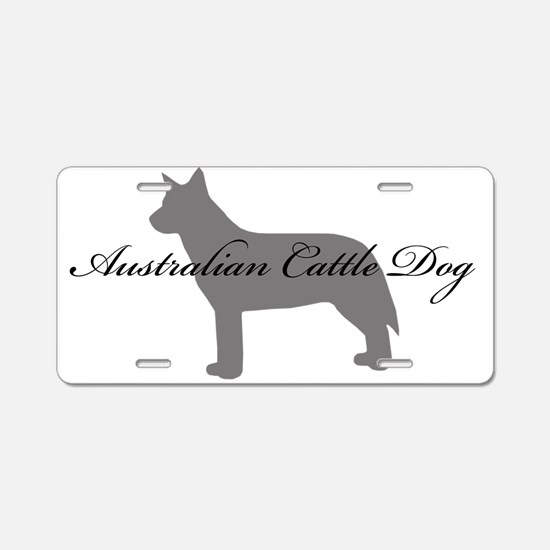 Australian Cattle Dog Aluminum License Plate