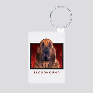 Bloodhound Aluminum Photo Keychain