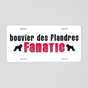 Bouvier des Flandres Fanatic Aluminum License Plat