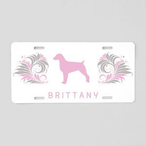 """""""Elegant"""" Brittany Aluminum License Plate"""