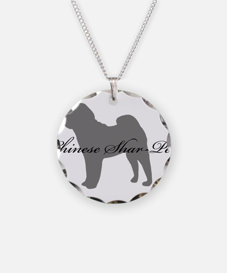 Chinese Shar Pei Necklace