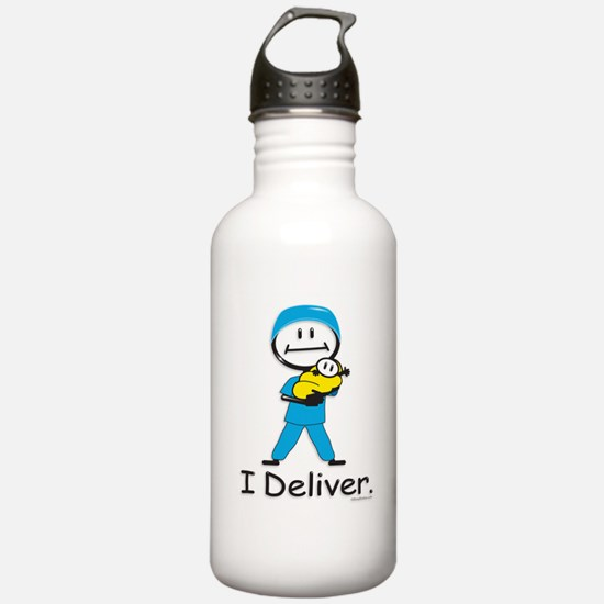 OB Doctor / Nurse Water Bottle