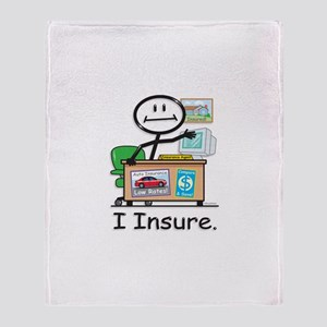 BB Insurance Agent Throw Blanket