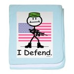 BusyBodies US Military baby blanket