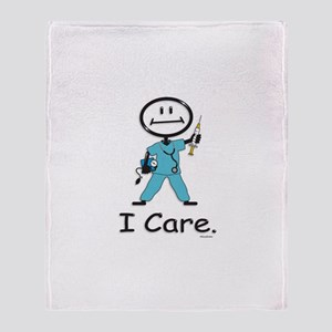 BusyBodies Nurse Throw Blanket