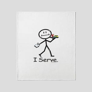 BusyBodies Server Throw Blanket
