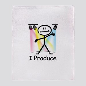 Theater Play Producer Throw Blanket
