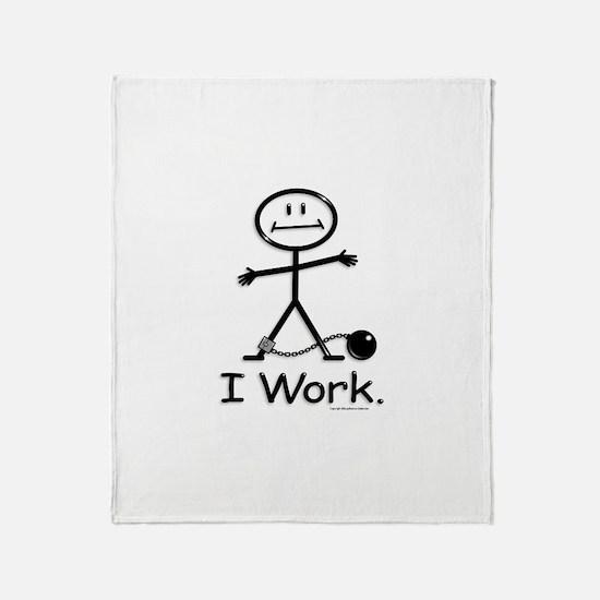Work Throw Blanket